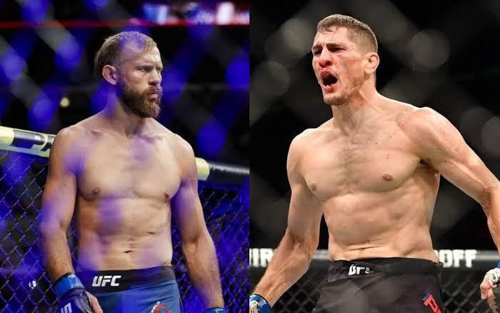UFC VEGAS 11: Co-main event Donald Cerrone vs Niko Price.
