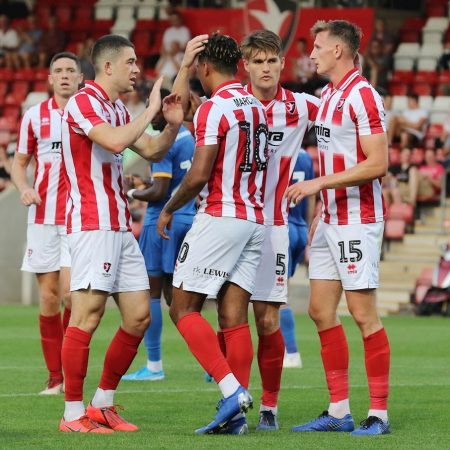 League 2 Predictions – Cheltenham Town is looking to snatch another victory against Scunthorpe.