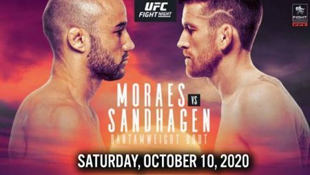 UFC Predictions – Fight Island 5 Moraes vs Sandhagen: Who will earn the title shot?
