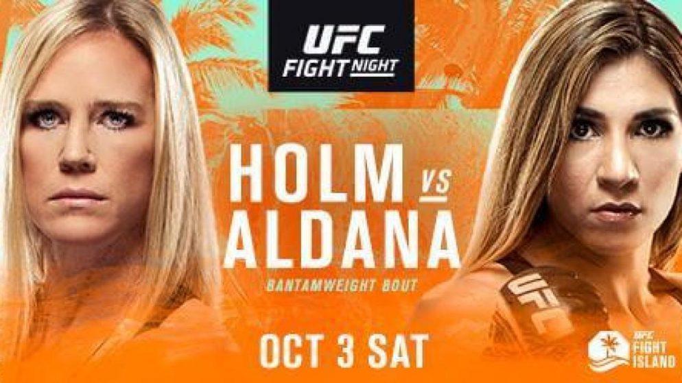 UFC Predictions – Fight Island 4   Holm vs Aldana