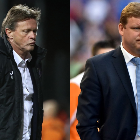 The battle of the new coaches, AA Gent vs Antwerp!